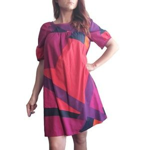 Marc by Marc Jacobs pink purple shift dress